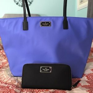 Large Kate Spade Purse and Wallet